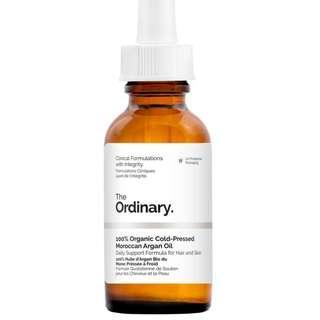 100% Organic Cold-Pressed Moroccan Argan Oil( 30ml )