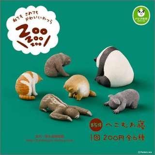 ZOO ZOO ZOO 第五、六彈 休眠動物園 單售 獼猴/無尾熊/猿猴