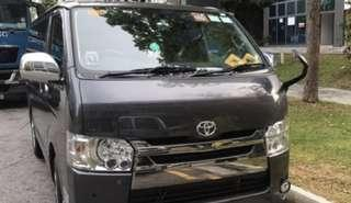 Toyota hiace front grill