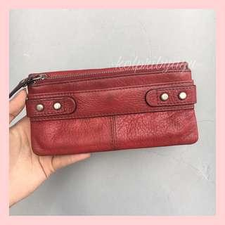 Dompet fossil fiftyfour red