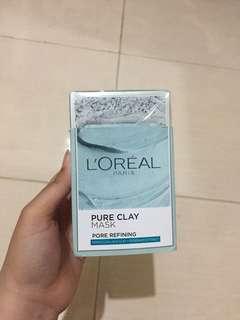 L'oreal Pure Clay Mask Pore Refining