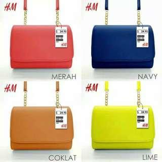TAS SLEMPANG H&M / TAS SELEMPANG / TAS IMPORT MURAH
