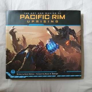 The Art Of Pacific Rim Uprising (hardcover)