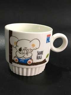 Marigold HL Koala Stackable Coffee Porcelain Mug Cup