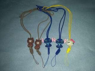 Character Mobile Phone Lanyard / ID Lace