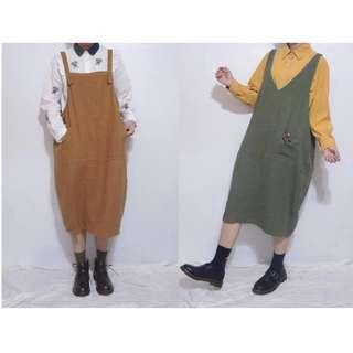 。error dot。日本小花苞雙面穿吊帶裙