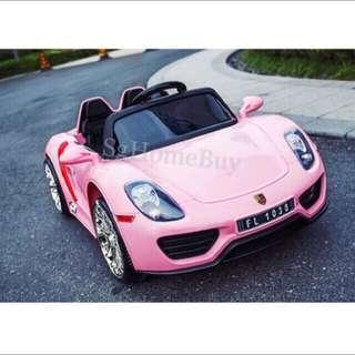 In-stock - Kids Electric Car with Opening Doors (Porsche)