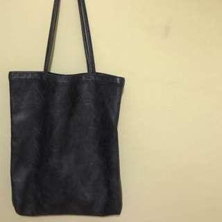 ♡好質感灰色大容量手提包 子母包