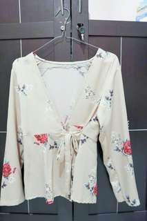 Flower blouse