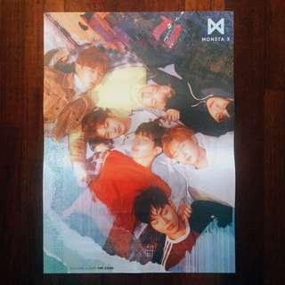(WTS) MONSTA X - THE CODE POSTER