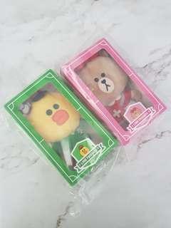 #FreePostage McDonald's Line Friends Plush Toy Sally Choco