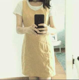 Cute Yellow Mustard Dress