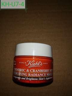 KH-U7-4 Kiehl's Turmeric & Cranberry Seed Energizing Radiance Masque ( Invigorate and brightens skin's appearance) 14ml