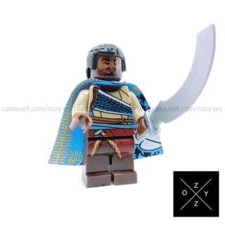 Lego Compatible Marvel Superheroes Minifigures : W'Kabi