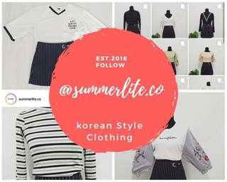 Check our account for korean Inspired Clothing