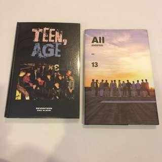 [WTS] SEVENTEEN TEENAGE ALL ALBUMS