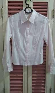 Light pink stripes long sleeves