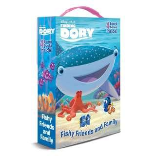 (Brand New) Finding Dory Friendship Box Disney - Pixar Finding Dory   By: Andrea Posner-Sanchez, Random House Disney (Illustrator) [Board Book] For Ages: 4 - 6 years old