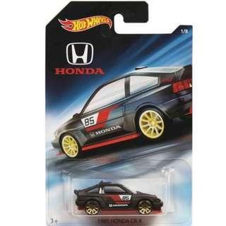 Hotwheels 2018 Honda Series 1985 Honda CR-X Rare