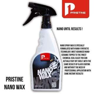 Pristine nano wax