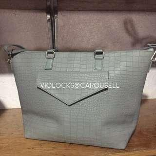 Gray Two Way Bag