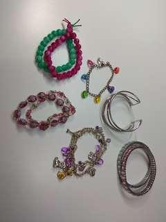 (Mix&Match) Assorted bracelets