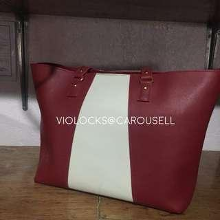 Red Two Way Bag