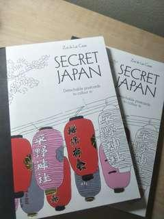 Secret Japan Colouring Postcards