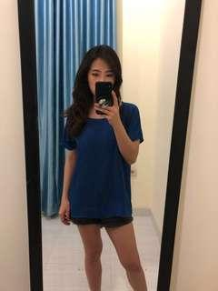 Blue top by forever21