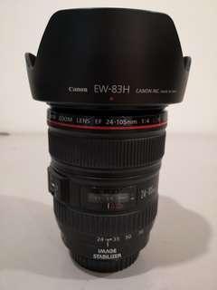 Canon EF 24-105mm 1:4 L IS USM Lens