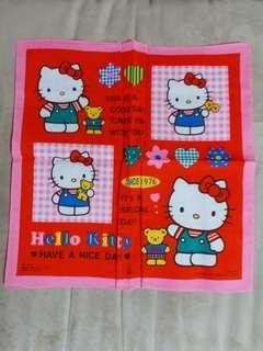 Hello kitty 巾 sanrio 日本掣