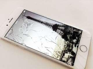Cracked iPhone screen? Call us now!