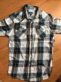 (Sale) BNWT Old Navy plaid short sleeve polo (Reduced price)