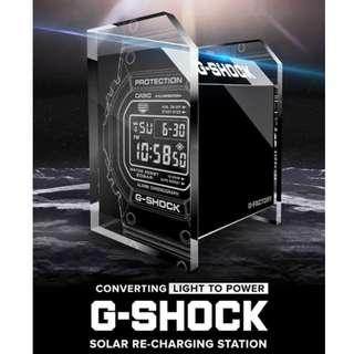 Exclusive G-Factory Solar Re-Charging Station from Casio  (Watch not included). Cheap $58