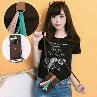 TAS HP MINI / TAS RUMBAI / BELL POCKET / TAS SELEMPANG PHONE BAG