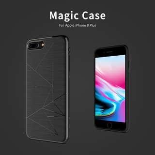 🚚 Apple Iphone 8 Plus Magic Case Magnetic Casing + Cover