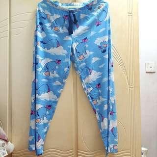 💓 罕有 ! 包平郵 ! 全新 Disney 迪士尼 Eeyore 依唷 伊唷 睡褲 Pants 超舒服
