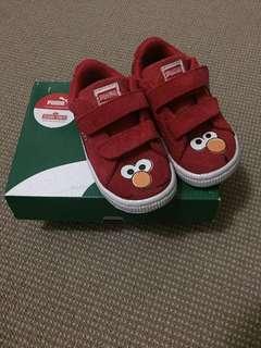 Puma Elmo Suede Kids Shoes size UK5/US6c