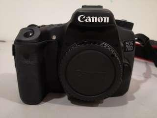 Canon 70D (shutter count 6k only!)