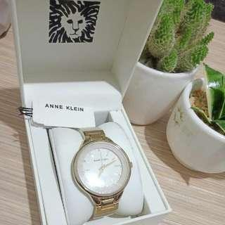Auth Anne Klein Watch