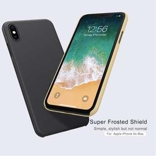 🚚 Apple Iphone XS Max Frosted Shield Case Full Coverage Casing