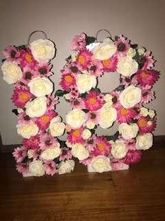 Renting 18th floral stand