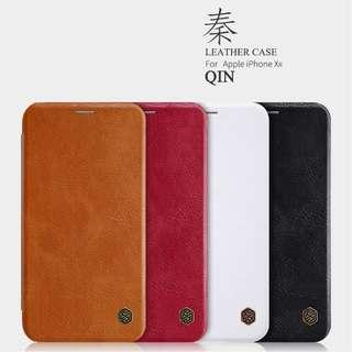 🚚 Iphone XR Leather Flip Case Cover Card Slot Casing Apple