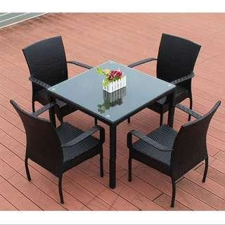 BN Outdoor Furniture Table+Chair  S599 1+4