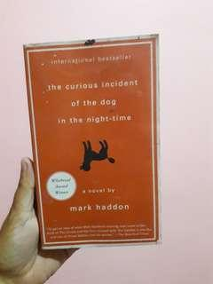 The Curious Incident of the Dog in the Night Time.