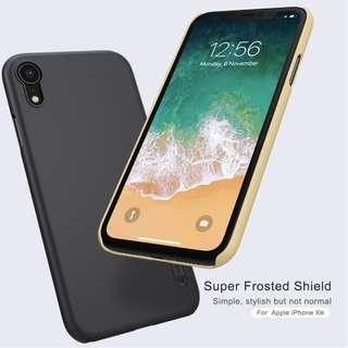 🚚 Apple Iphone XR Frosted Shield Case Full Coverage Casing