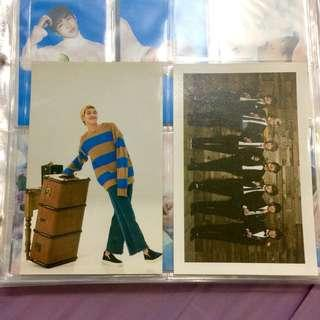 [wts/wtt] bts namjoon 3rd muster japan + 2nd term army postcard