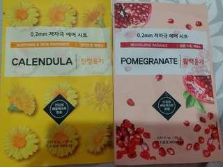 Masker korea etude house sheet mask