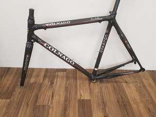 Colnago c50 traditional geometry for sale. Size 54 top tube 53 Seat post and saddle  not included