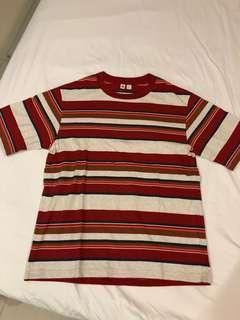 UNIQLO UU STRIPED S/S T Shirt